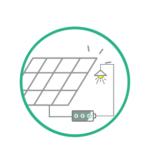 Panneaux solaire + stockage virtuel